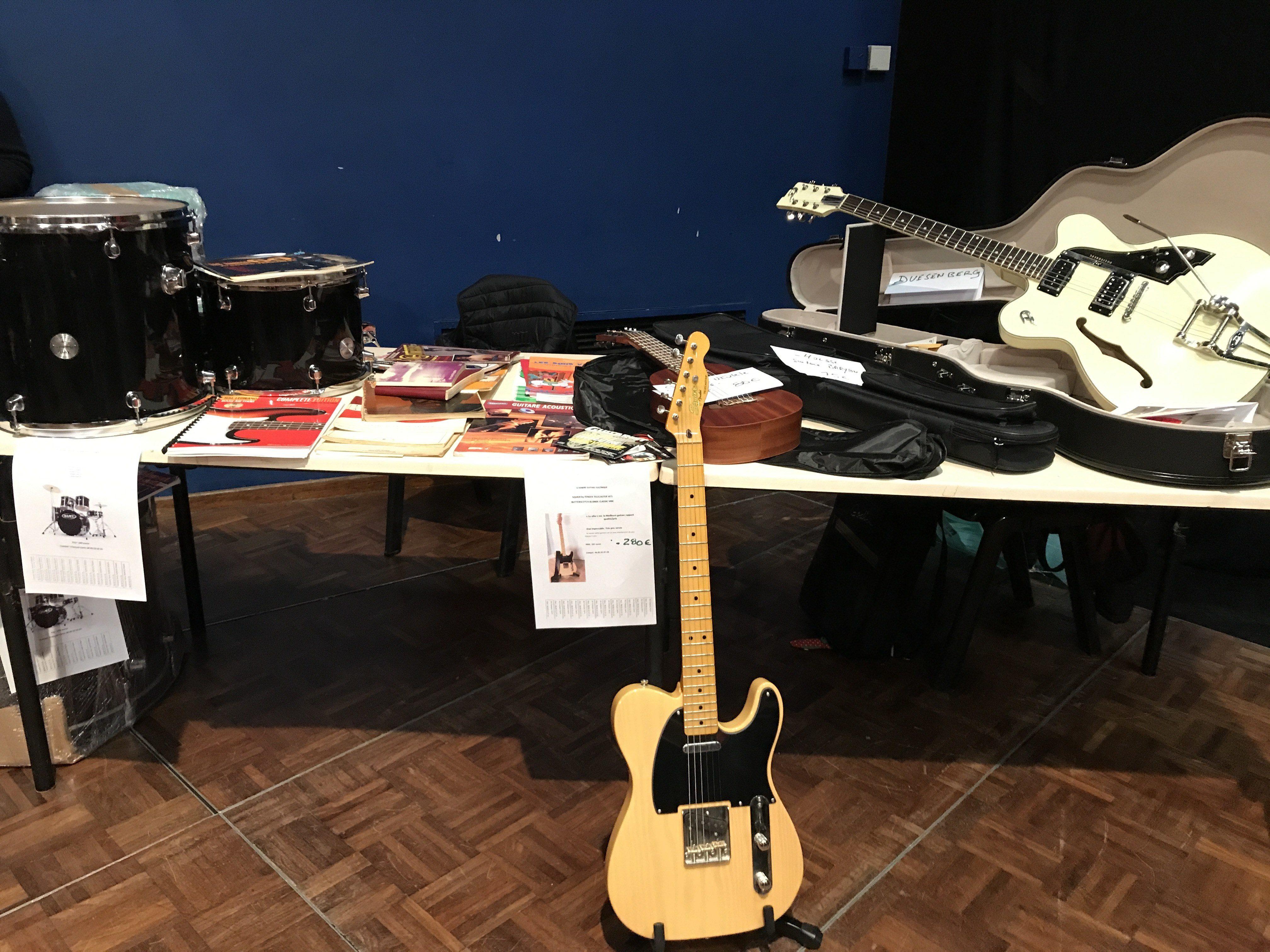 1er troc de Traverse : échange, vente d'instruments, vinyls, partitions....