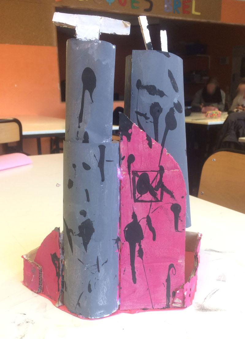 Maquette d'architecture du futur // Marwa et Flora (5e1)