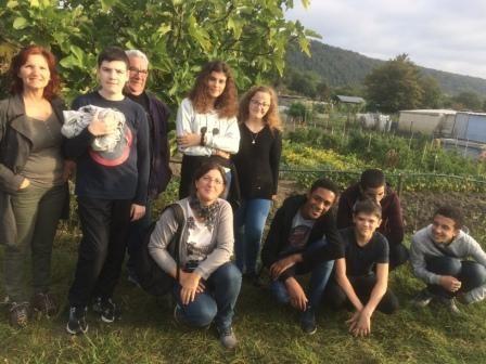 visite des jardins ouvriers de cCéon